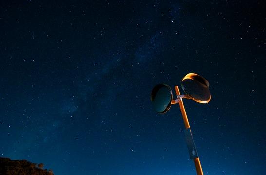 点景の星の写真