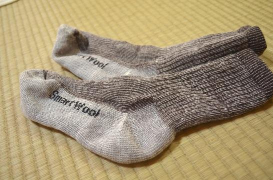 smartwoolの靴下