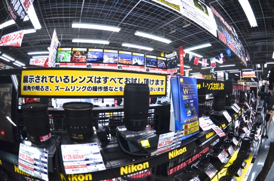 AF DX Fisheye-Nikkor 10.5mm f/2.8G EDで試し撮り
