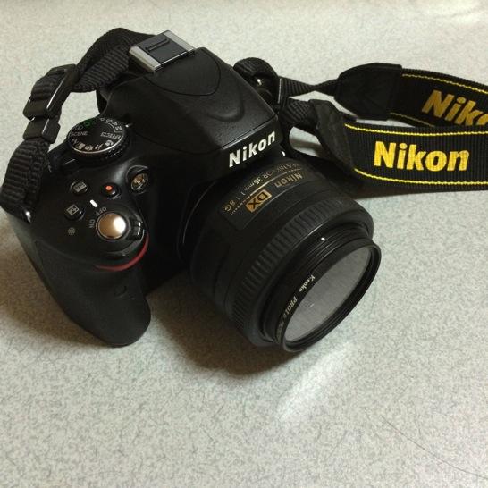 D5100とAF-S NIKKOR 35mm f/1.8G