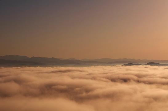 高谷山の雲海