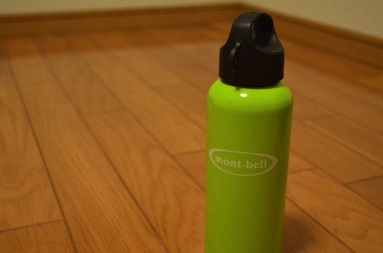 montbell(モンベル)スクリュートップアルミボトル