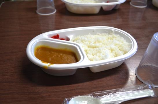 池田館夕食 カレー