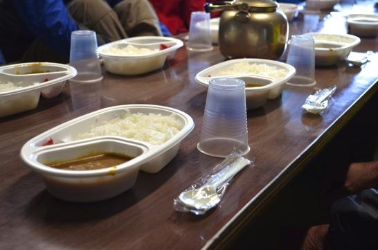 池田館の夕食
