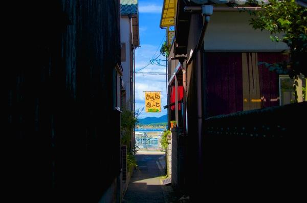 直島の路地