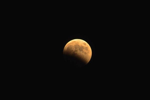 10月8日月食