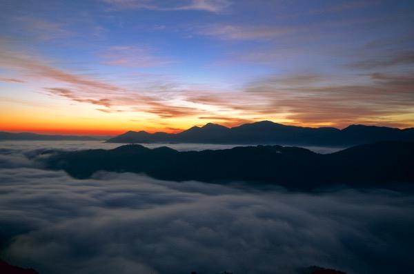 荒谷山の雲海