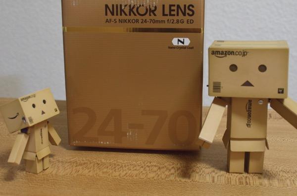 AF-S NIKKOR 24-70mm f/2.8G EDとダンボー