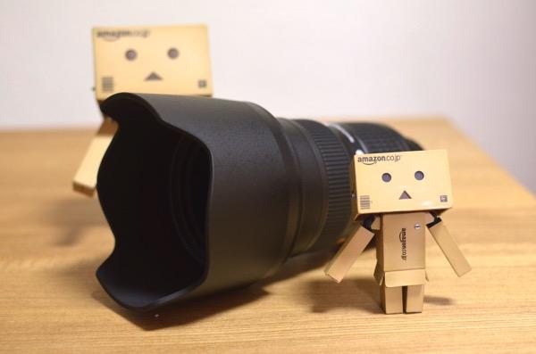 AF-S NIKKOR 24-70mm f/2.8G ED フード装着
