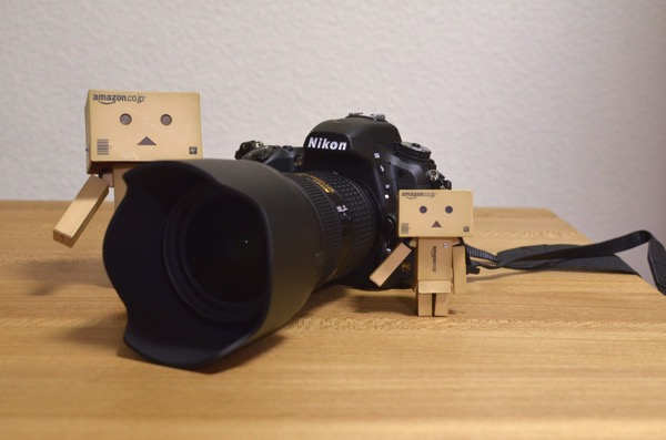 D750にAF-S NIKKOR 24-70mm f/2.8G EDを装着