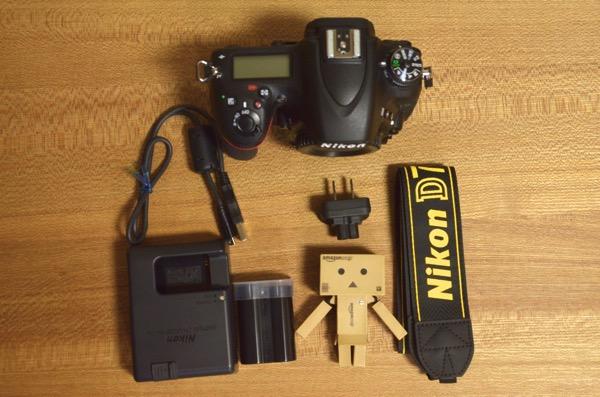 D750の付属品