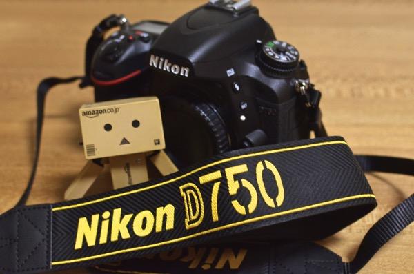 D750にストラップを装着