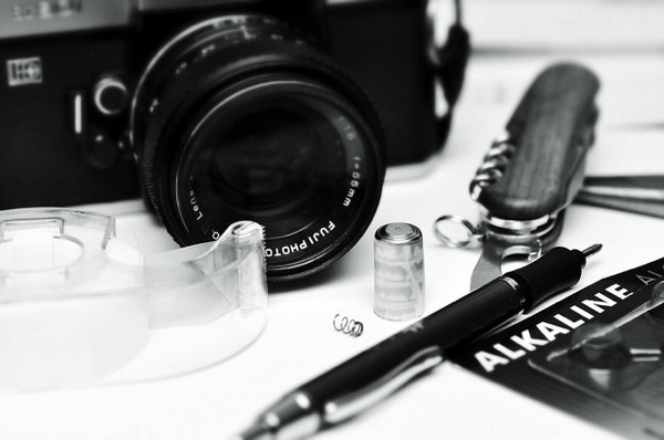 カメラと道具
