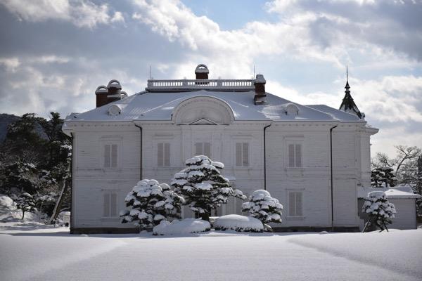 雪の仁風閣