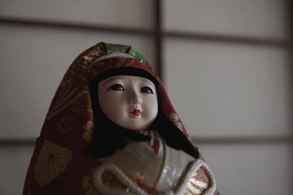 松坂邸の人形