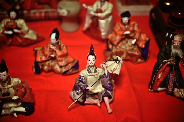 森川邸の雛人形