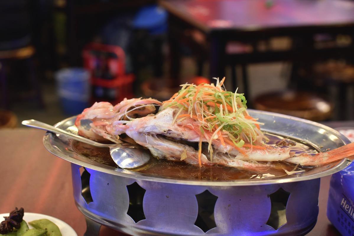 鮮定味 魚