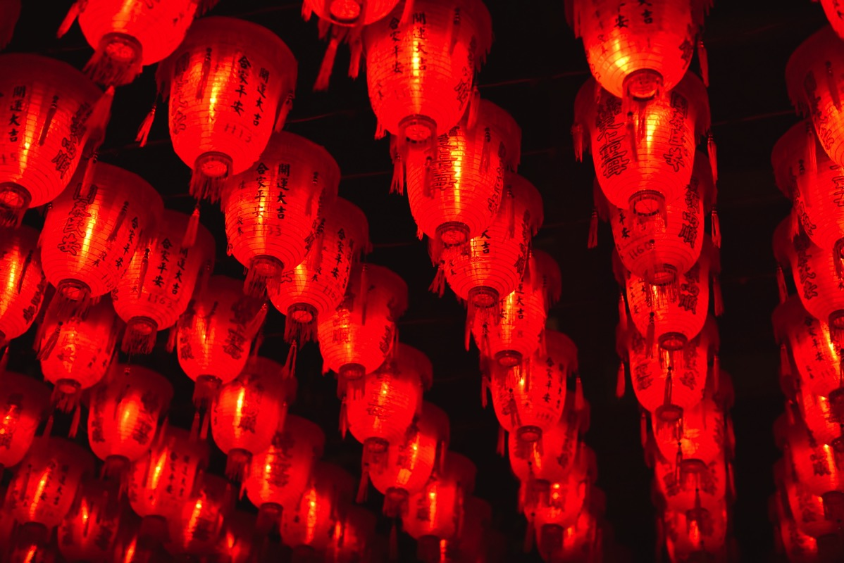 士林慈誠宮 提灯