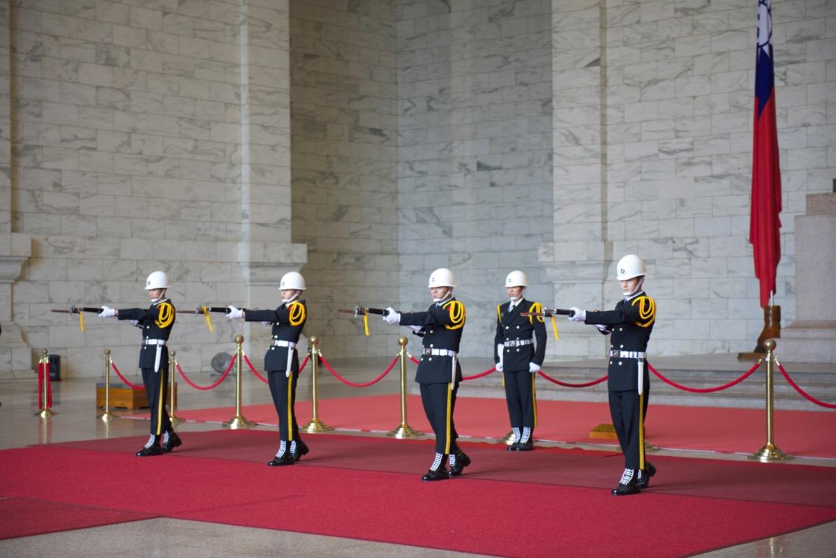 中正紀念堂衛兵交代式