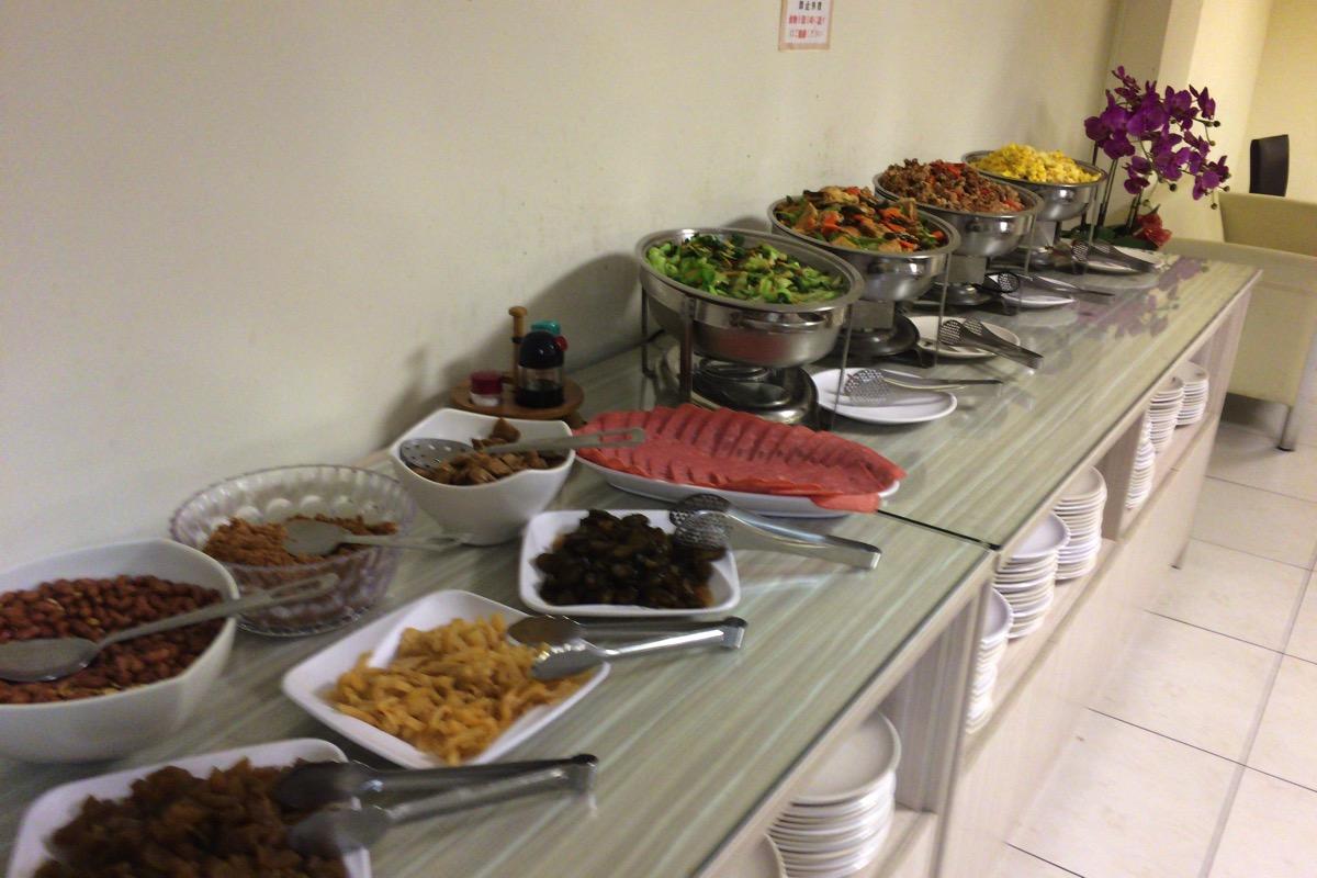 台湾ホテルの朝食