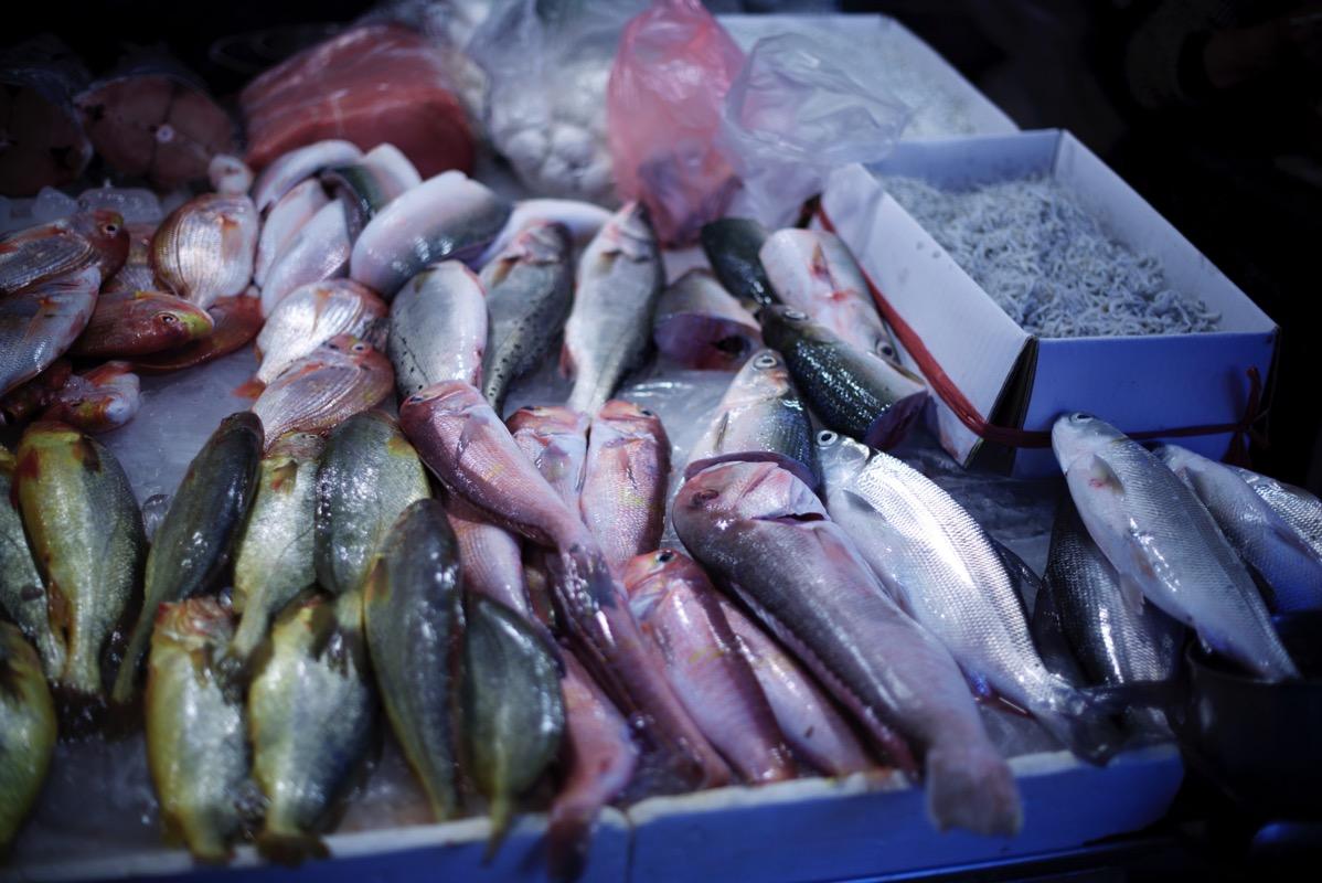東三水街市場 魚屋