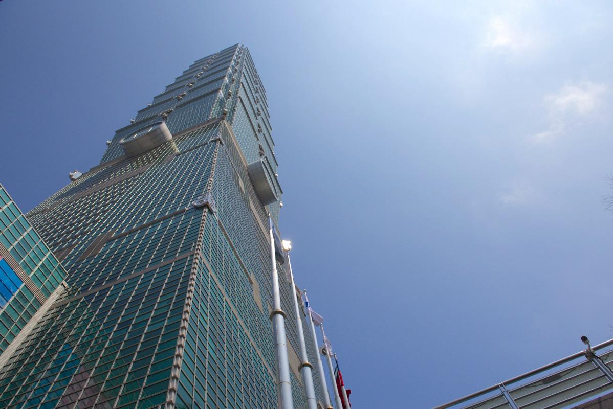 晴れの台北101