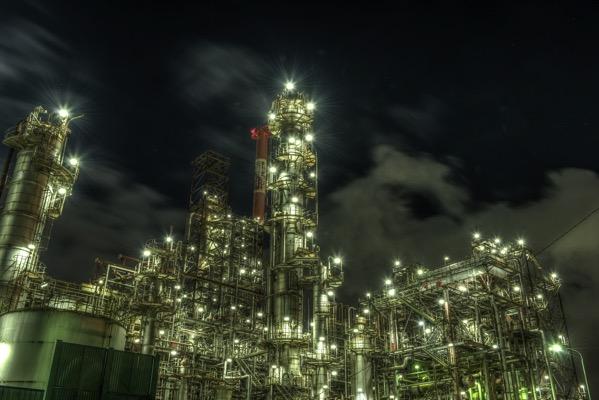 塩浜エリア 工場夜景