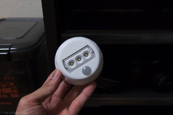 防湿庫ED-120CDT LEDライト