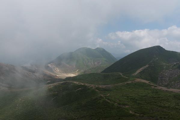 久住山山頂からの景色