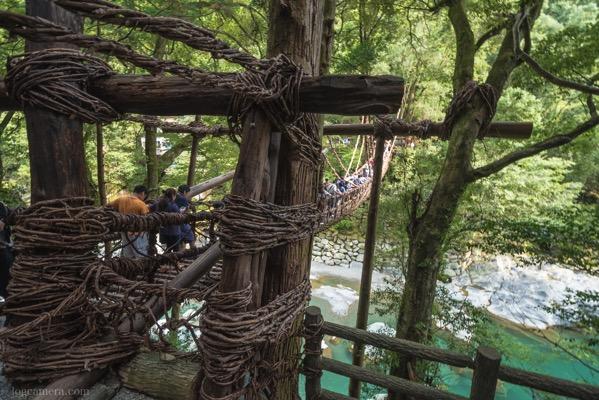 徳島の秘境!かずら橋と祖谷渓の小便小僧を撮ってきた!