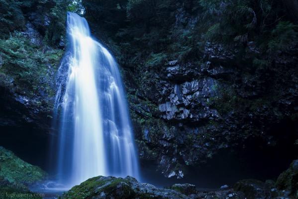 日本の滝100選のひとつ、龍頭ヶ滝(りゅうずがたき)を撮ってきた!