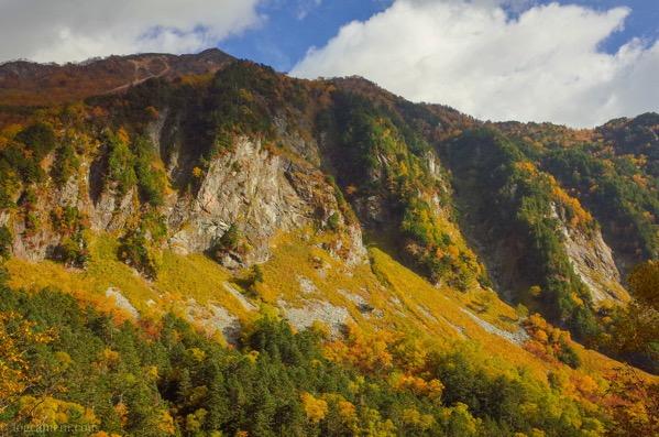 本谷橋からの紅葉