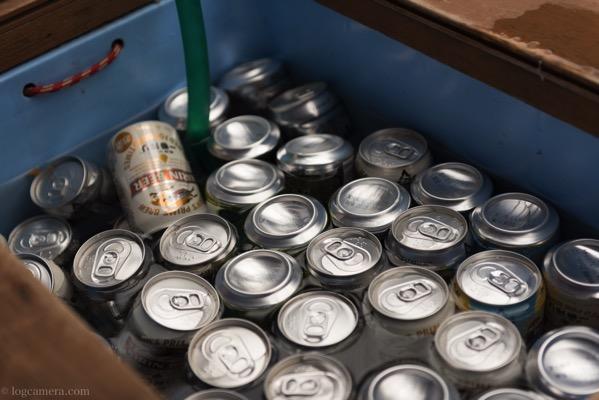 涸沢 缶ビール