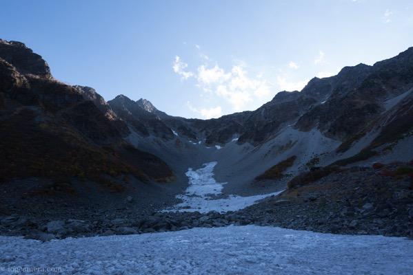 涸沢 雪渓