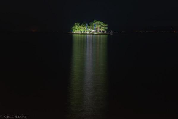 嫁ヶ島 ライトアップ