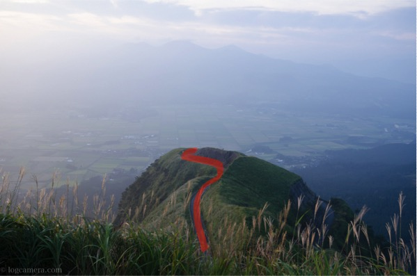 S字構図 ラピュタの道