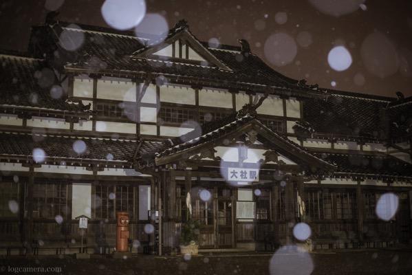旧大社駅 雪