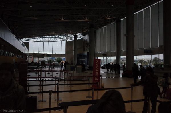 ボリビア ラパス空港
