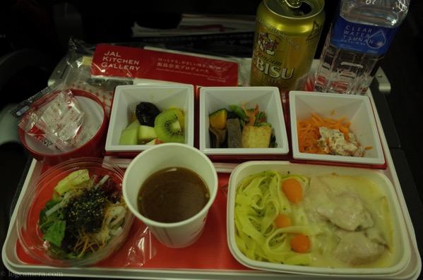 JAL 機内食