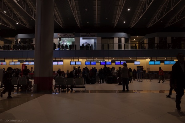 ラパス 空港