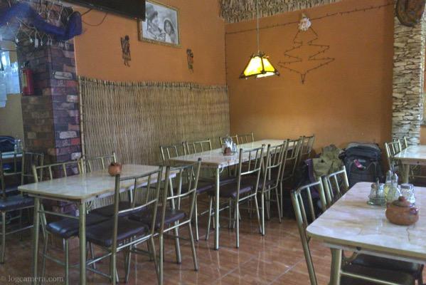 ウユニの食堂