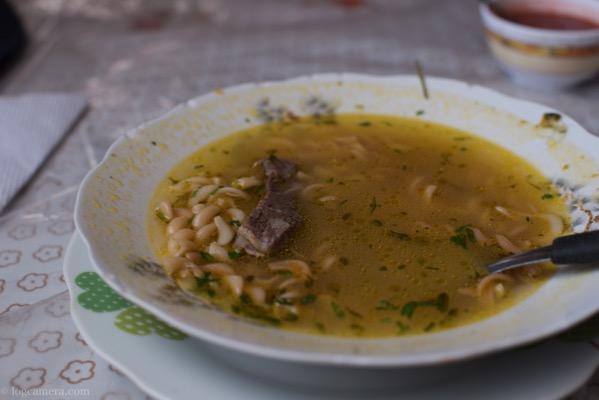 ウユニ スープパスタ