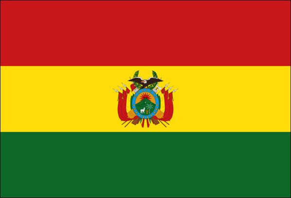 ボリビア 国旗