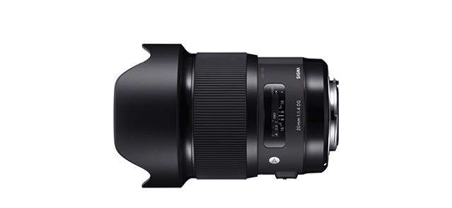 SIGMA 20mm f1.4