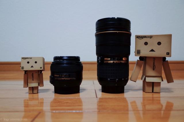 単焦点レンズとズームレンズ