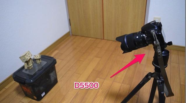 D5500で撮影