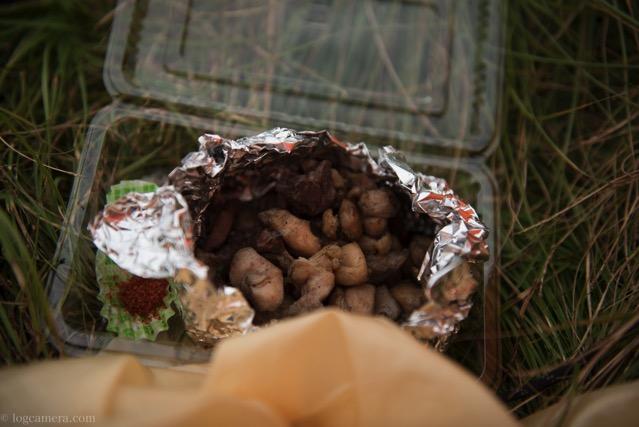 法華院温泉山荘 地鶏