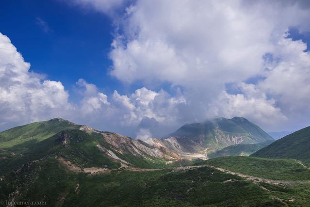 久住山からの景観