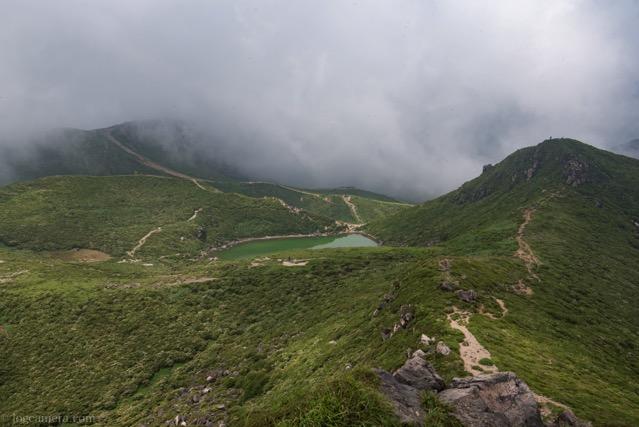 中岳山頂からの長め