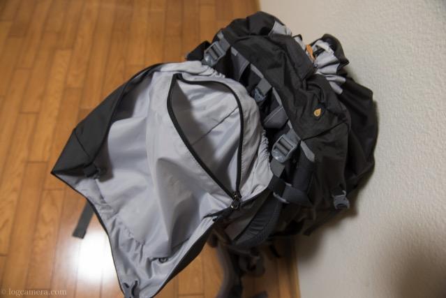 バルトロ 雨蓋の裏のポケット